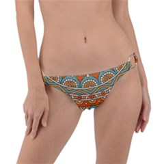 Sunshine Mandala Ring Detail Bikini Bottom