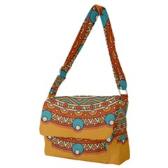 Sunshine Mandala Full Print Messenger Bag (m)