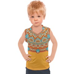 Sunshine Mandala Kids  Sport Tank Top