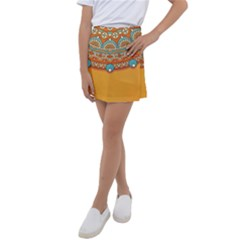 Sunshine Mandala Kids  Tennis Skirt