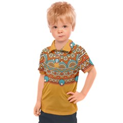 Sunshine Mandala Kids  Polo Tee