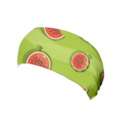 Seamless Background With Watermelon Slices Yoga Headband