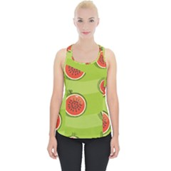Seamless Background With Watermelon Slices Piece Up Tank Top
