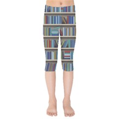 Bookshelf Kids  Capri Leggings