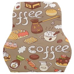 Vector Seamless Pattern With Doodle Coffee Equipment Car Seat Back Cushion  by BangZart