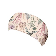 Watercolor Floral Seamless Pattern Yoga Headband