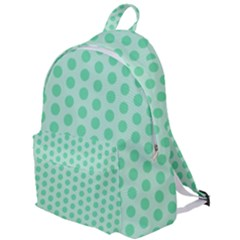 Polka Dots Mint Green, Pastel Colors, Retro, Vintage Pattern The Plain Backpack by Casemiro