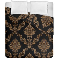 Vintage Pattern Duvet Cover Double Side (california King Size) by BangZart