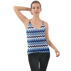 Zigzag Pattern Seamless Zig Zag Background Color Chiffon Cami