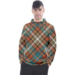 Tartan Scotland Seamless Plaid Pattern Vector Retro Background Fabric Vintage Check Color Square Men s Pullover Hoodie