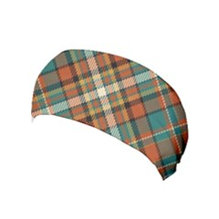 Tartan Scotland Seamless Plaid Pattern Vector Retro Background Fabric Vintage Check Color Square Yoga Headband