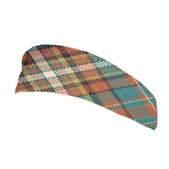 Tartan Scotland Seamless Plaid Pattern Vector Retro Background Fabric Vintage Check Color Square Stretchable Headband