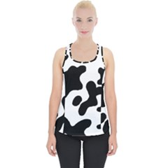 Cow Pattern Piece Up Tank Top