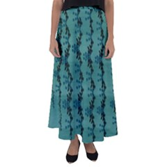 Branches Of A Wonderful Flower Tree In The Light Of Life Flared Maxi Skirt by pepitasart