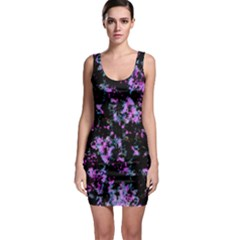 Abstract Intricate Texture Print Bodycon Dress by dflcprintsclothing