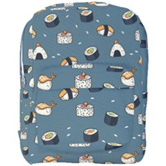 Sushi Pattern Full Print Backpack