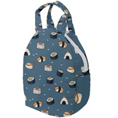 Sushi Pattern Travel Backpacks by Bejoart