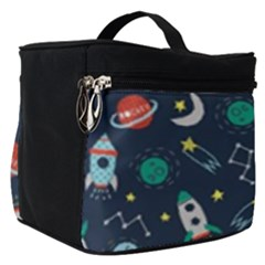 Cute Patterns Make Up Travel Bag (small)
