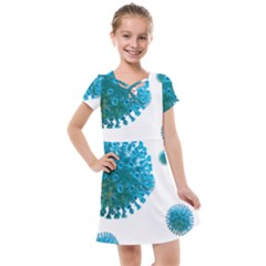 Corona Virus Kids  Cross Web Dress by catchydesignhill