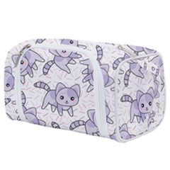 Cats Pattern Design Toiletries Pouch