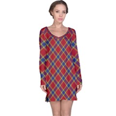 Scottish And Celtic Pattern - Braveheard Is Proud Of You Long Sleeve Nightdress by DinzDas