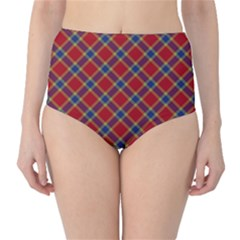 Scottish And Celtic Pattern - Braveheard Is Proud Of You Classic High-waist Bikini Bottoms by DinzDas