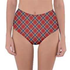 Scottish And Celtic Pattern - Braveheard Is Proud Of You Reversible High-waist Bikini Bottoms by DinzDas