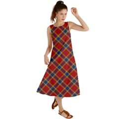 Scottish And Celtic Pattern - Braveheard Is Proud Of You Summer Maxi Dress by DinzDas