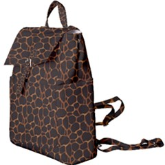 Animal Skin - Panther Or Giraffe - Africa And Savanna Buckle Everyday Backpack by DinzDas