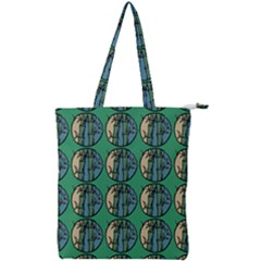 Bamboo Trees - The Asian Forest - Woods Of Asia Double Zip Up Tote Bag by DinzDas