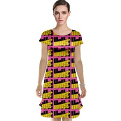 Haha - Nelson Pointing Finger At People - Funny Laugh Cap Sleeve Nightdress by DinzDas