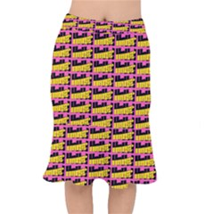 Haha - Nelson Pointing Finger At People - Funny Laugh Short Mermaid Skirt by DinzDas