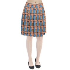 Village Dude - Hillbilly And Redneck - Trailer Park Boys Pleated Skirt by DinzDas