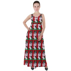 Village Dude - Hillbilly And Redneck - Trailer Park Boys Empire Waist Velour Maxi Dress by DinzDas