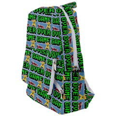 Game Over Karate And Gaming - Pixel Martial Arts Travelers  Backpack by DinzDas