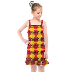 Japan Nippon Style - Japan Sun Kids  Overall Dress by DinzDas