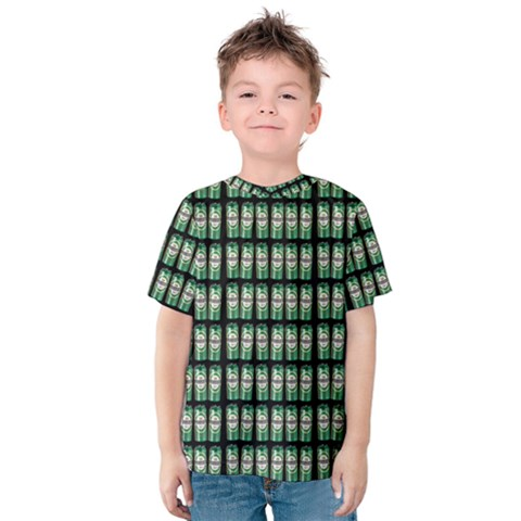 Beverage Cans - Beer Lemonade Drink Kids  Cotton Tee by DinzDas