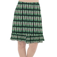 Beverage Cans - Beer Lemonade Drink Fishtail Chiffon Skirt
