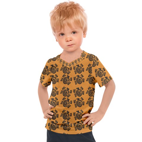 Inka Cultur Animal - Animals And Occult Religion Kids  Sports Tee by DinzDas