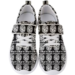 Inka Cultur Animal - Animals And Occult Religion Men s Velcro Strap Shoes by DinzDas