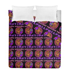 Inka Cultur Animal - Animals And Occult Religion Duvet Cover Double Side (full/ Double Size)