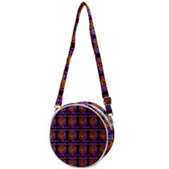 Inka Cultur Animal - Animals And Occult Religion Crossbody Circle Bag