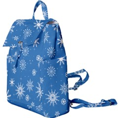 Winter Time And Snow Chaos Buckle Everyday Backpack by DinzDas