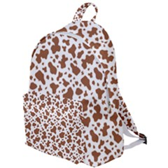 Animal Skin - Brown Cows Are Funny And Brown And White The Plain Backpack by DinzDas