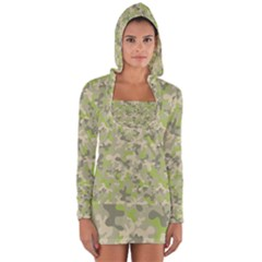 Camouflage Urban Style And Jungle Elite Fashion Long Sleeve Hooded T-shirt by DinzDas