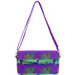 Jaw Dropping Comic Big Bang Poof Removable Strap Clutch Bag by DinzDas