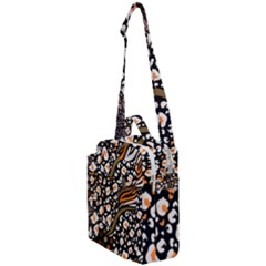 Trendy Mix Animal Skin Prints Crossbody Day Bag