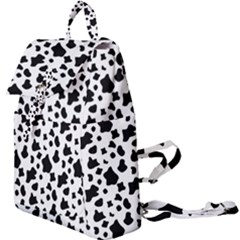 Black And White Cow Spots Pattern, Animal Fur Print, Vector Buckle Everyday Backpack by Casemiro