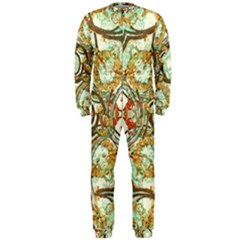 Multicolored Modern Collage Print Onepiece Jumpsuit (men)