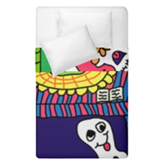 Circus Ghosts Digital Duvet Cover Double Side (single Size)